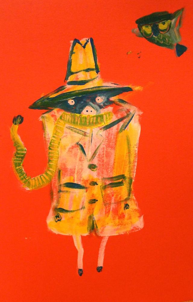 Detective Pig in Technicolour